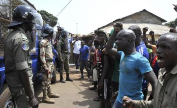 Manifestations contre un 3e mandat d'Alpha Condé en Guinée