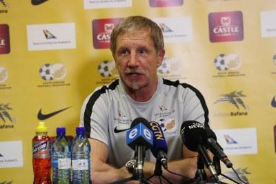 Bafana Bafana head coach Stuart Baxter.