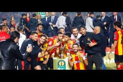L'Espérance de Tunis est championne d'Afrique.
