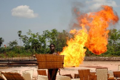 Gas flaring is on the rise again.