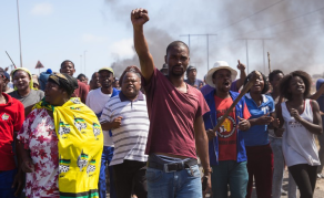 'We Have Nothing' - Tension as South African Town Protests