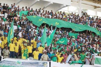 Supporters mauritaniens