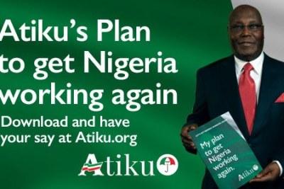 Atiku Abubakar launches presidential bid.