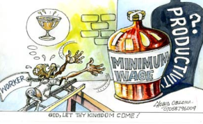 A New Minimum Wage - Too Much to Ask?