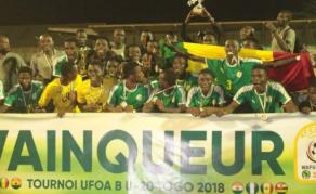 Tournoi UFOA B - Le Sénégal sacré devant le Nigeria
