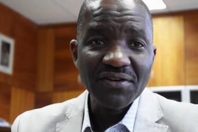 Namibian Health Minister Dr Bernard Haufika.
