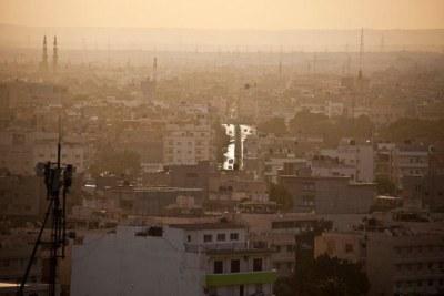 La ville de Benghazi, dans l'est de la Libye.