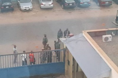 Nigerian Army invades Daily Trust office in Abuja.