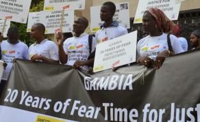 Début des auditions de la Commission vérité et réconciliation en Gambie