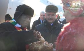 President Mnangagwa Eats Cake in Belarus While Zimbabwe Burns