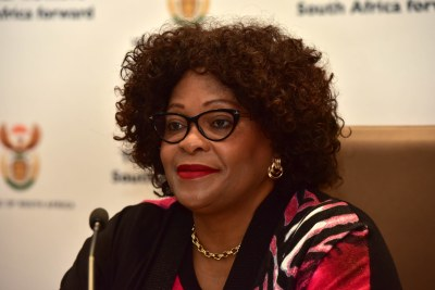 Environmental Affairs Minister Nomvula Mokonyane (file photo).