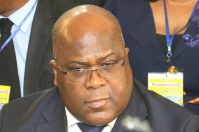 Felix Antoine Tshisekedi, 5e président de la République Démocratique du Congo.