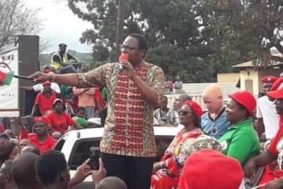 Main opposition Malawi Congress Party presidential hopeful, Lazarus Chakwera.