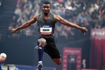Hugues Fabrice Zongo: Nouveau recordman africain du triple saut