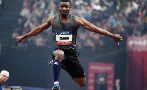 Le burkinabé Hugues Fabrice Zongo nouveau recordman africain du triple saut