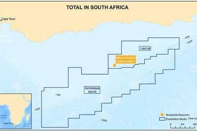 Gas Field, Brulpadda, in Mossel Bay, Southern Cape