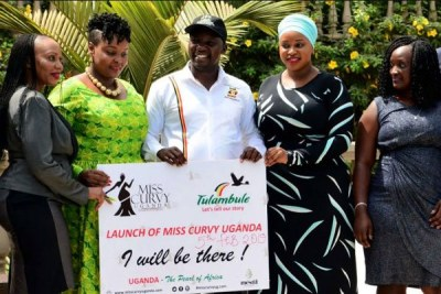 State minister for tourism Godfrey Kiwanda unveiled the campaign at a news conference attended by a bevy of curvaceous women on February 6, 2019.