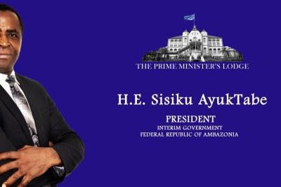 Cameroon Separatist leader Julius Sisiku Ayuk