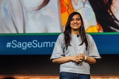 Kriti Sharma, VP of AI at Sage.