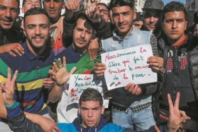"""""""Libérer l'Algérie"""", la chanson d'artistes algériens contre le"""
