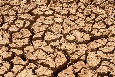 Parched earth in a drought (file photo)