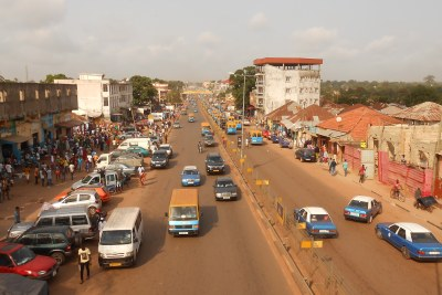 The central Avenida dos Combatentes da Liberdade da Pátria avenue in the capital Bissau (file photo).
