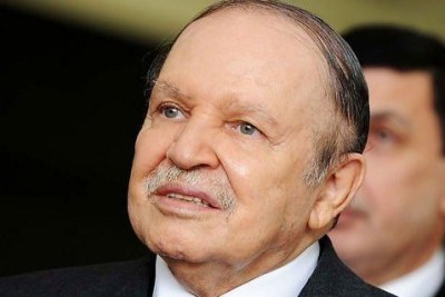 Le président algérien, Abdelziz Bouteflika