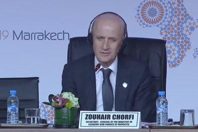 Zouhair Chorfi, SG du Min des finances du Maroc