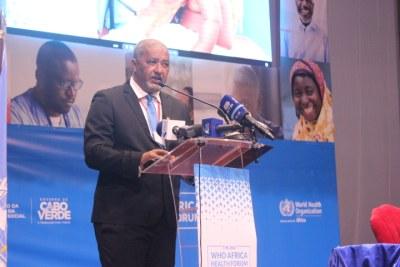 Cape Verde Minister of Health, Dr Arlindo Nascimento do Rosario.
