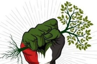 Sudan uprising poster