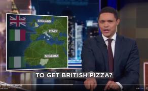 Trevor Noah's Pizza Joke Not Going Down Well With Nigerians!