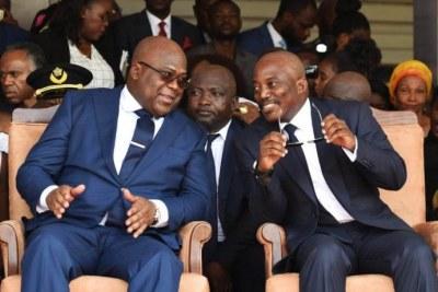 Joseph Kabila and Félix Antoine Tshisekedi.