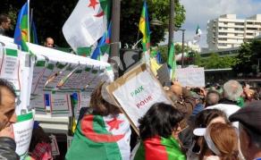 12e rassemblement d'Algériens à Paris pour un changement pacifique