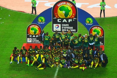 2017 African Cup of Nations winners Cameroon.