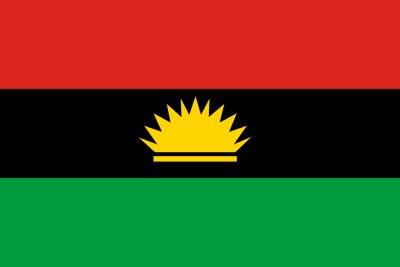 Flag of Biafra.