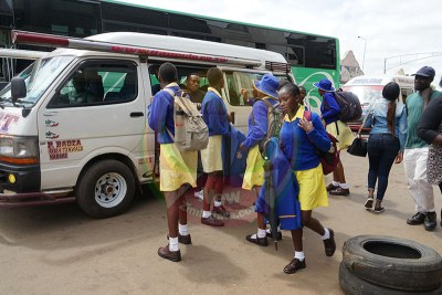 Mabelreign Girls High School pupils (file photo).