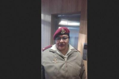 Major Fatima Isaacs.