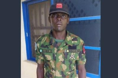 Aircraftman Bashir Umar