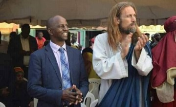 Jesus Visited Africa This Weekend, And There's Video to Prove It!
