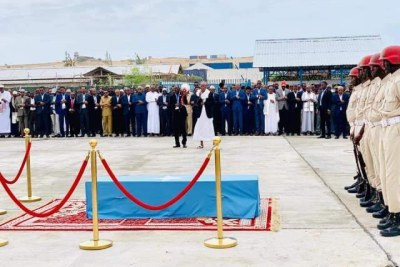 Mogadishu mayor Abdirahman Omar Osman laid to rest