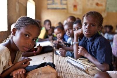 Des enfants dans une école à Tombouctou, au Mali. .