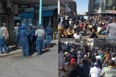 Zimbabwe On Edge As Opposition Vows to Defy Protest Ban