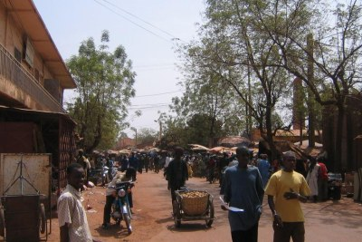 Une rue de Kati au Mali. (Image d'illustration)