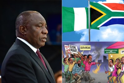South Africa apologises to Nigeria for xenophobic violence.