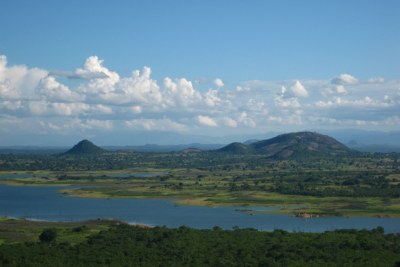 Part of the Chicamba Dam in Manica province in Mozambique (file photo).