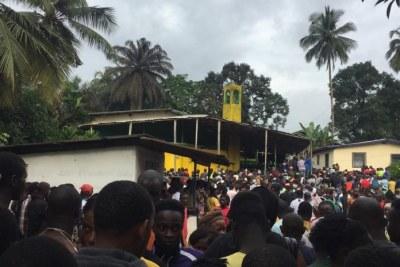 Incendie au quartier Ridlight, au Libéria au moins vingt guinéens tués