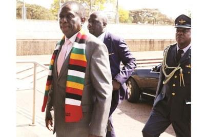 Président Mnangagwa