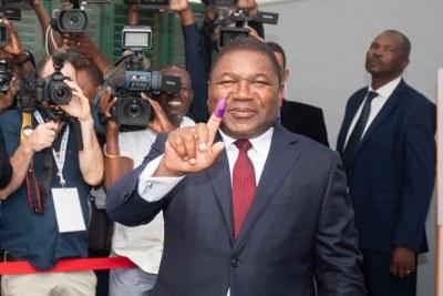 Président Filipe Nyusi