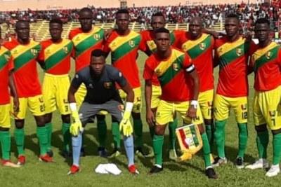 L'équipe guinéenne