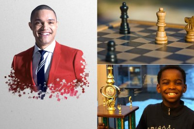 Trevor Noah to produce film on 8-year-old Nigerian chess prodigy.